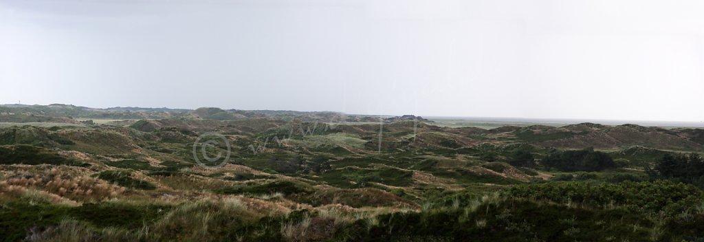 Panoramablick auf den Osten