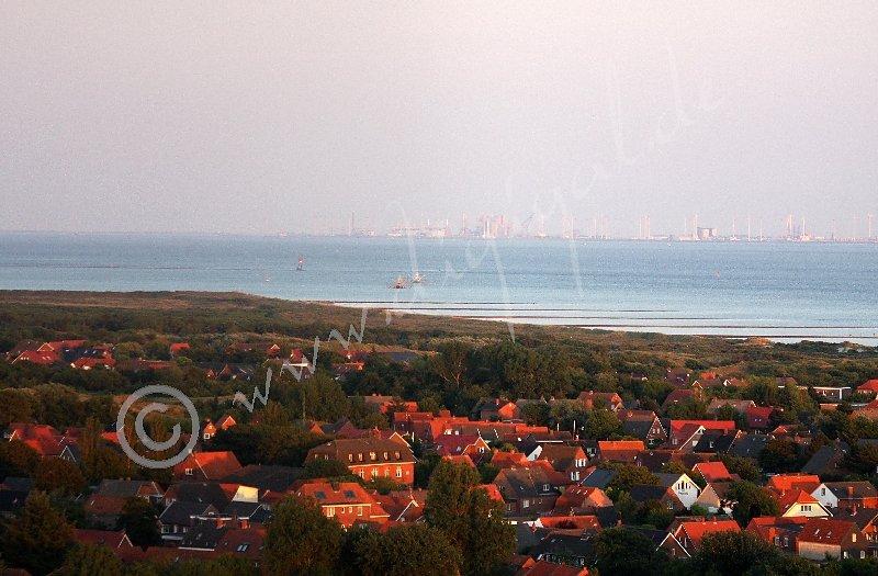 Blick vom Neuen Leuchtturm nach Südwesten